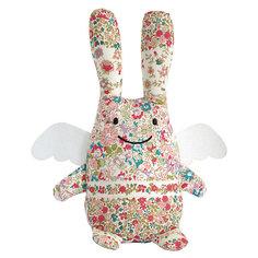 Мягкая игрушка Зайка с крылышками, музыкальный, 24см, Trousselier