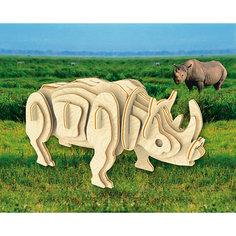 Белый носорог, Мир деревянных игрушек МДИ