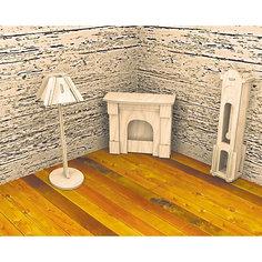 Часы и лампа, Мир деревянных игрушек МДИ