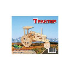 Трактор, Мир деревянных игрушек МДИ