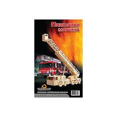 Пожарная машина (серия П), Мир деревянных игрушек МДИ