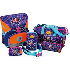 Ранец с наполнением DerDieDas XS Цветочный пони