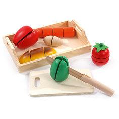 """Игровой набор средний """"Готовим завтрак"""", Мир деревянных игрушек МДИ"""
