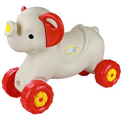 """Каталка детская """"Слонёнок"""" ,  Alternativa, слон. кость"""