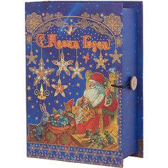 """Подарочная коробка """"Мастерская Деда Мороза"""" 20*14*6 см Magic Time"""