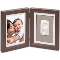 Фоторамка двойная, Baby Art, шоколад
