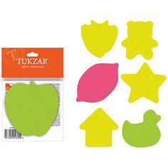 Фигурный блок с липким слоем (100 листов), в ассортименте Tukzar