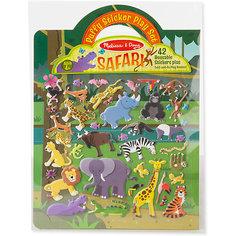 """Книжка с многоразовыми наклейками """"Сафари"""" Melissa & Doug"""