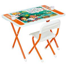 Набор детской складной мебели Джейк и пираты нетландии, Dami, оранжевый Дэми
