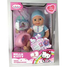"Пупс ""Hello Kitty"", 40см, 3 функции, Карапуз"