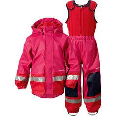 Непромокаемый комплект Boardman: куртка и брюки для девочки DIDRIKSONS