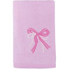 Полотенце махровое Бантик 60*130, Любимый дом, розовый