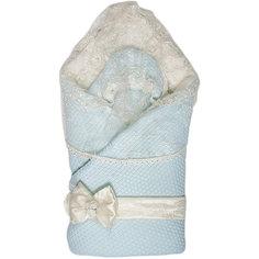 """Конверт-одеяло """"Жемчужинка"""", Сонный гномик, голубой"""