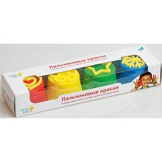 Набор «Пальчиковые краски со штампиками» Genio Kids