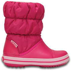 Сапоги Winter Puff Boot Kids для девочки CROCS