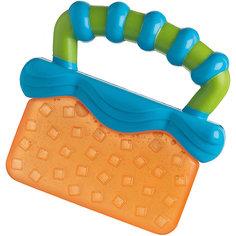 Игрушка-прорезыватель, Playgro, оранжево-синяя