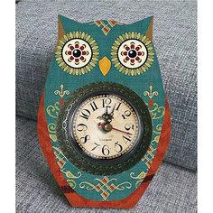 """Часы настольные """"Совушкины чары"""", Magic Home"""