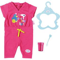 Пижама, зубная щетка и стаканчик, BABY born Zapf Creation