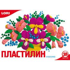 Пластилин «Классика»  18 цветов, 20 г Lori