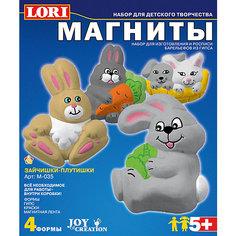 Фигурки на магнитах «Зайчишки-плутишки» Lori