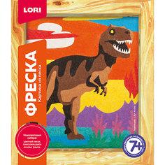 Фреска, Картина из песка Тиранозавр Lori