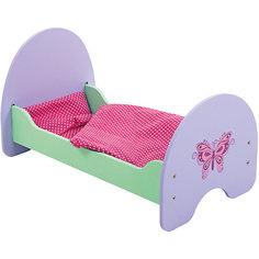 "Кроватка деревянная ""Бабочка"", 51*30*25 см, Mary Poppins"