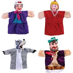 "Кукольный театр ""Красная шапочка"", 4 куклы, Жирафики"