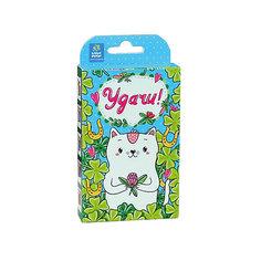 """Набор для выращивания """"Живая открытка"""" - Удачи! Кот, Happy Plant Бумбарам"""