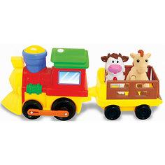 """Развивающая игрушка """"Поезд с животными"""", Kiddieland"""