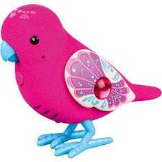 Интерактивная птичка, красная с голубыми лапками, Little Live Pets