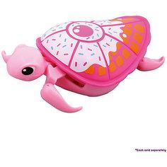 Интерактивная черепашка, розовая с белым панцирем, 3-я серия, Little Live Pets Moose