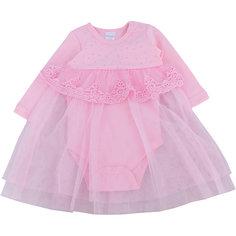 Нарядное боди-платье для девочки PlayToday
