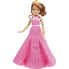 Кукла Одри, светлые герои в платьях для коронации, Наследники, Disney Hasbro