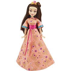 Кукла Лони, светлые герои в платьях для коронации, Наследники, Disney Hasbro