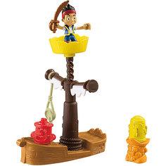 Игровой набор, Fisher Price, Джейк и пираты Нетландии. Корабль-обучающая станция Mattel