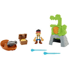 Игровой набор, Fisher Price, Джейк и пираты Нетландии. Сокровища крокодила Тик-Така Mattel