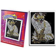 Мозаика из пайеток Кошка Волшебная мастерская
