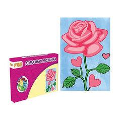 Набор для творчества Алмазная мозаика «Роза» Color Puppy