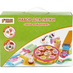 """Набор для лепки """"День рождения!"""", тесто 250 г Color Puppy"""
