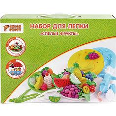 """Набор для лепки """"Спелые фрукты"""", тесто 240 г Color Puppy"""