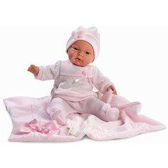 """Кукла """"Жоэль"""" с одеялом, 38 см, Llorens"""