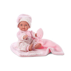 """Кукла """" БэбитаРоза"""" с одеялом, 26 см, Llorens"""