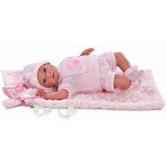 Пупс с одеялом, 36 см, Llorens