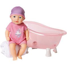 Кукла твердотелая с ванночкой, 30 см, my first Baby Annabell Zapf Creation