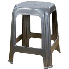 Стул (табурет), Alternativa, серебр.металлик