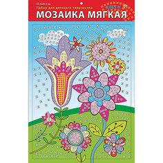 """Мягкая мозаика """"Цветы"""" формат А3 (34.5х25 см) Рыжий кот"""