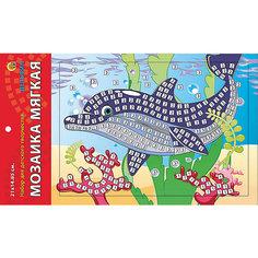"""Мягкая мозаика """"Дельфин"""" формат А5 (21х15 см) Рыжий кот"""