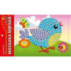 """Мягкая мозаика """"Птичка"""" формат А5 (21х15 см) Рыжий кот"""