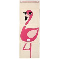 Органайзер на стену Фламинго (Pink Flamingo), 3 Sprouts