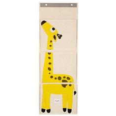 Органайзер на стену Жираф (Yellow Giraffe), 3 Sprouts